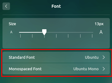 How to get Ubuntu fonts in Deepin OS